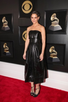 US-60TH-ANNUAL-GRAMMY-AWARDS---RED-CARPET