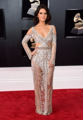 US-60TH-ANNUAL-GRAMMY-AWARDS---ARRIVALS